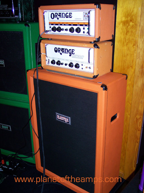 ORANGE Matamp - ORANGE Voice of The World and ELECTRIC AMP Cabs