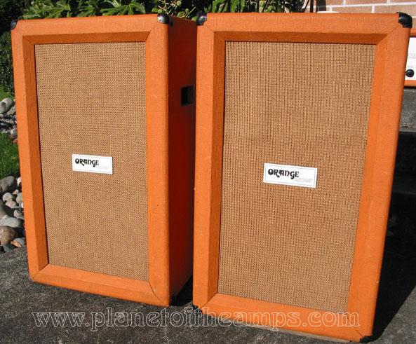 ORANGE Matamp 200watt LEAD Tube Amp and 2x12 Cabinets